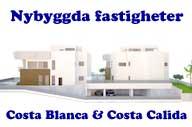 Nybyggda fastigheter Costa Blanaca - Costa Calida